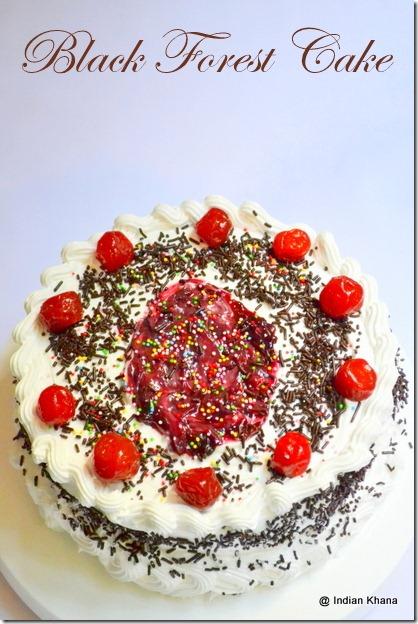 Black Forest Cake Recipe blog