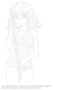[AA]Yukina Himeragi Bathing suit (Strike the Blood)