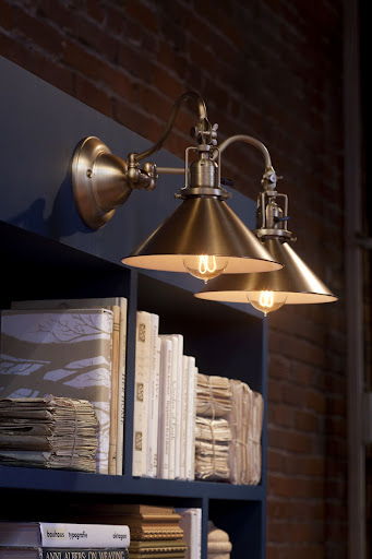 The swing arms on the Fords Mill fixture allow you to direct the light right where you need it.