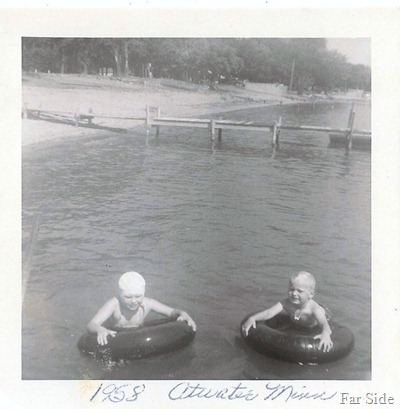 Connie add Carey at Atwater MN 1958 (2)
