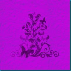 concrete butterfly purple