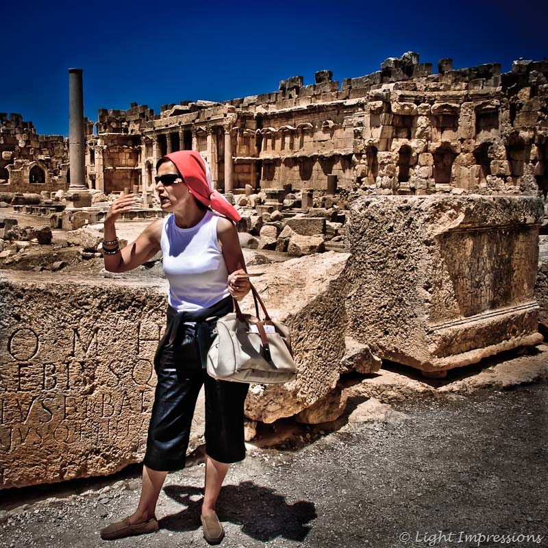 Baalbek tour guide