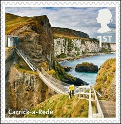 C - Carrick-a-ride stamp