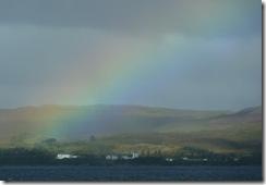 rainbow over sabhal mor ostaig
