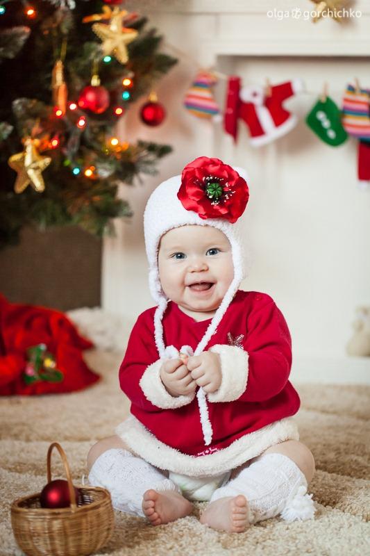 Детский новогодний фотопроект Рождественские мечты. 28. Катя 8 мес (Светлана Тесля)-0782