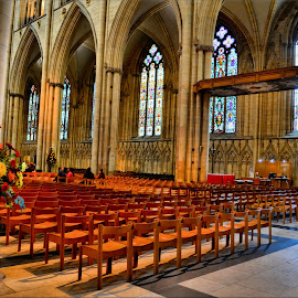 inside york minster by Nic Scott - Buildings & Architecture Other Interior ( york minster, minster, place of worship )