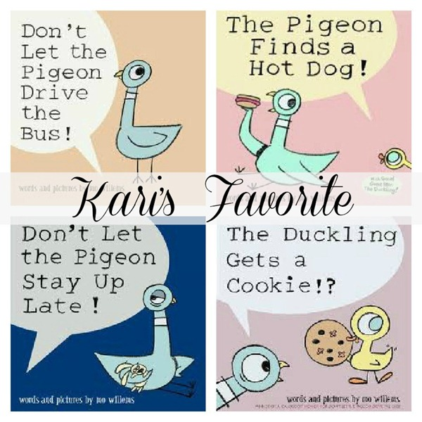 Kari Loves the Pigeon Books