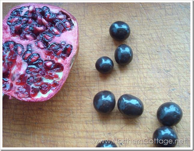 brookside chocolates with pomegranite @northerncottage.net