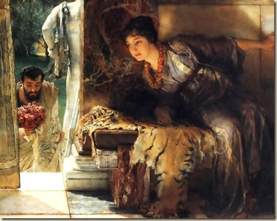 Welcome footstep, Laurens Alma-Tadema