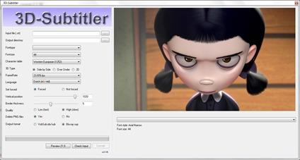 3D Subtitler – Convert Srt Subtitles to Idx / Sup Subtitle