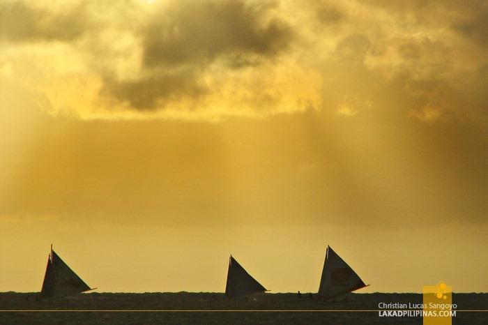 Beautiful Boracay Sunset