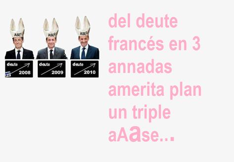 ase del deute francés