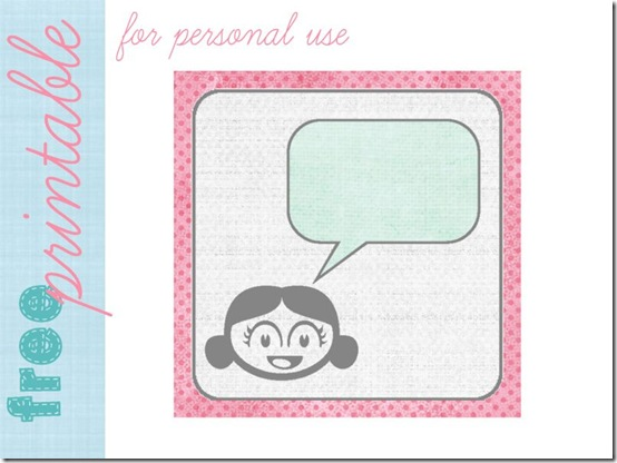creattive compagnie - free tag printable