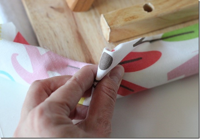 Ironing Board pinch and fold