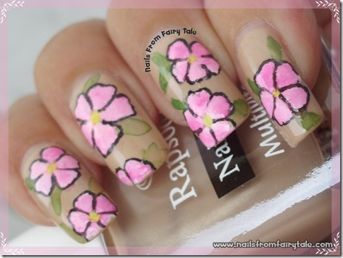 nude with pink flowers 2
