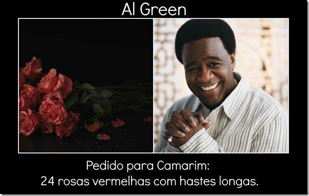 Al Green pedido
