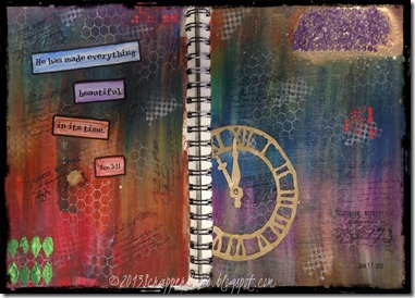 Tory's Art Journal Project-Time