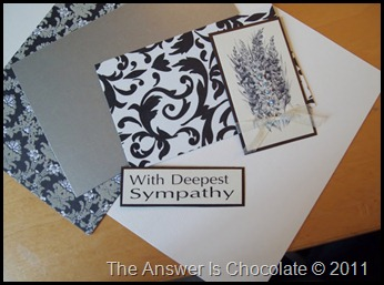 Sympathy Card Materials (2)