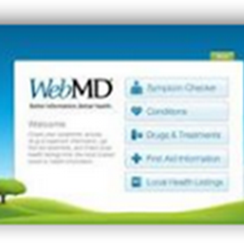 WebMD CEO Resigns and Company Ends Its Search for a Buyer–Advertising from Pharma At Lower Levels