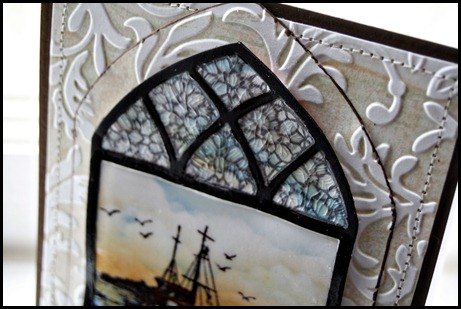 The Waves on the Sea, Cathedral Window-Marble, Cathedral Window Die, Our Daily Bread designs