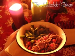 Candlelit Dinner - Pom Jalapeno Beef
