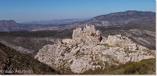 Penya Grossa - Castillo Benissili - Vall de Gallinera