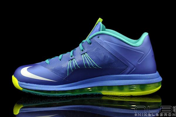 The Showcase Nike Air Max LeBron X Low 8220Treasure Blue8221