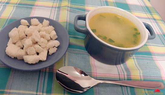 Sopa cebola com curry - Cozinha Perfumada