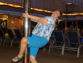 What a partay - Barb Pole Dancing
