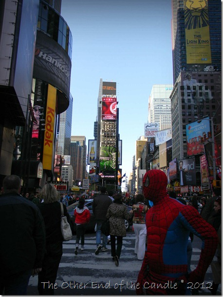 Trippin' in Times Square