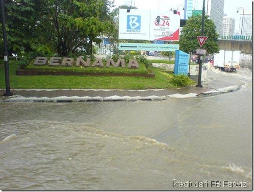 Banjir Jalan Tun Razak Kl 1