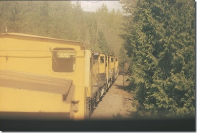 56154116-19 Riding the Weyerhaeuser Woods Railroad (WTCX) on May 17, 2005