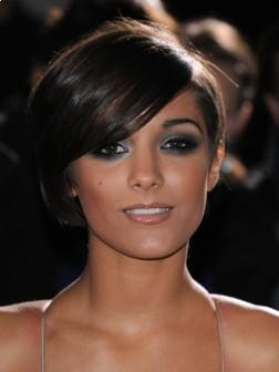 Side Swept Bangs Short Hairstyle