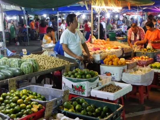 Fruit and Veg at the Night Market - Sibu Night Market