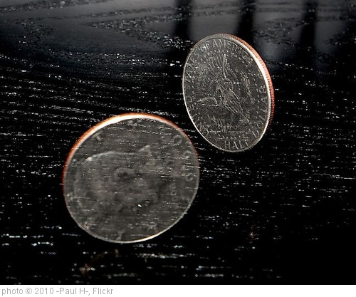 'Two Sides of the Same Coin' photo (c) 2010, -Paul H- - license: http://creativecommons.org/licenses/by/2.0/