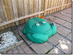 Sad Frog Sandbox