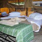 Kati Kati Camp, Zelteinrichtung e © Foto: Judith Nasse | Outback Africa Erlebnisreisen