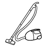 VACUUM CLEANER COLORING Vacuum Coloring Pages