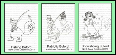 North Coast Creations, Fishing Buford, Patriotic Buford, Snowshoeing Buford