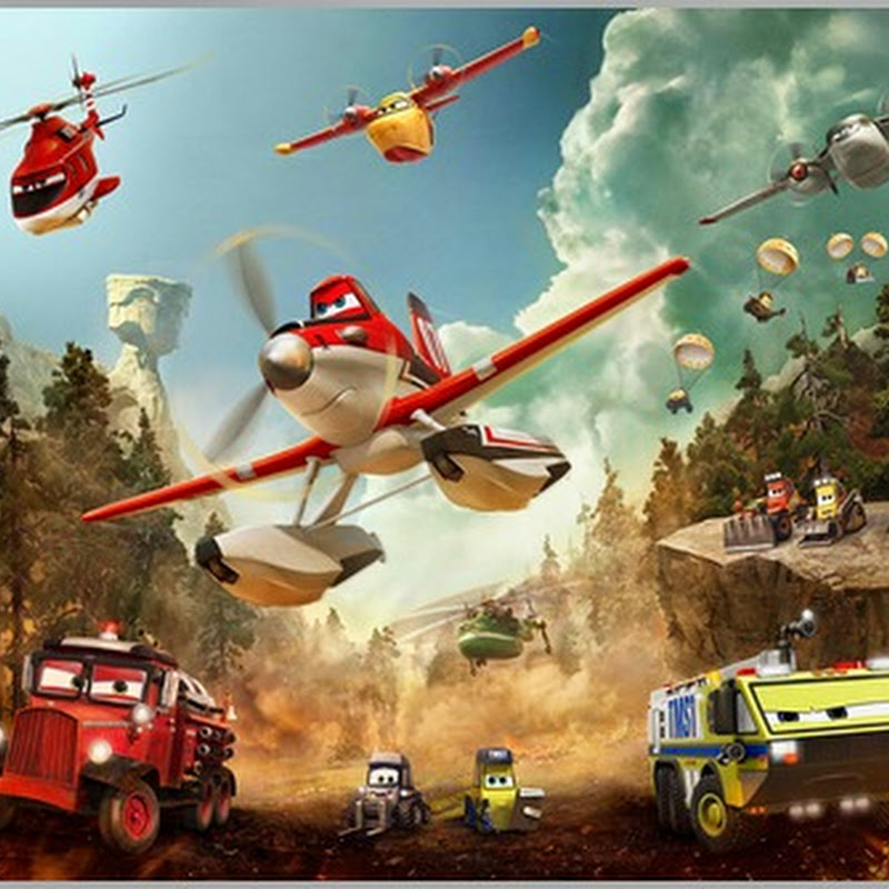 """High-Flying Heroes Save the Day in """"Planes: Fire & Rescue"""""""