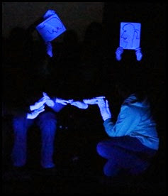 Youth Blacklight Performance