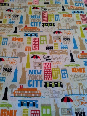 new york print fabric