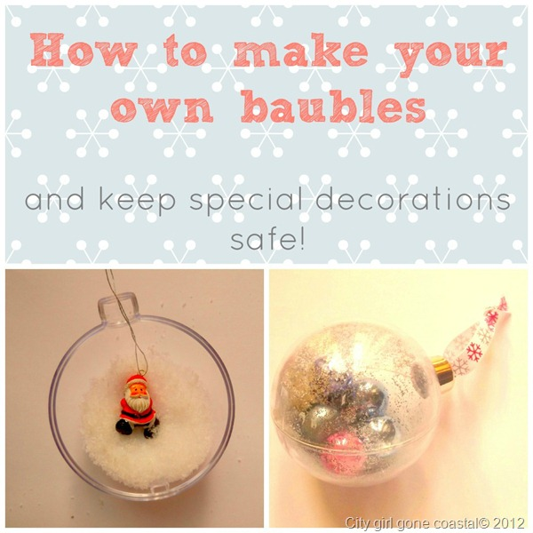 Saving those special decorations how to make your own for How to make your own ornaments ideas