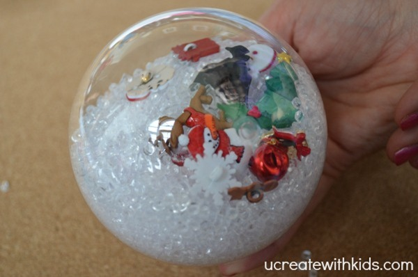 I Spy Christmas Ornament tutorial 5