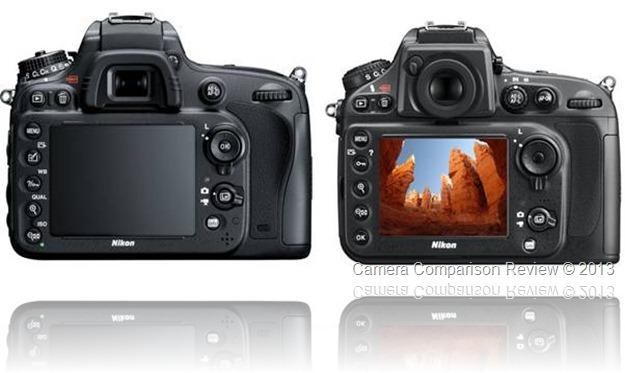 Nikon D600 vs Nikon D800