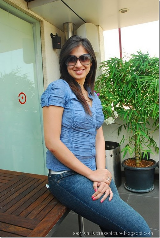 lakshmi_rai_tight_jeans_and_shirt_stills_12