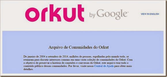 Orkut Memória