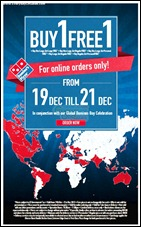 Domino's Pizza Malaysia Branded Shopping Save Money EverydayOnSales
