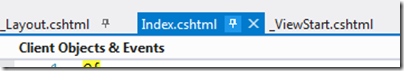 PinnedFile in Visual Studio 2012