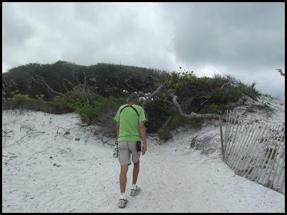 Dune hike & rain paddle 026